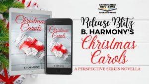 Christmas Carols by B Harmony Release Blitz Banner