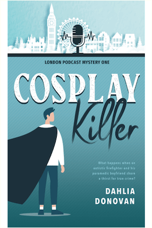 Cover of Cosplay Killer by Dahlia Donovan