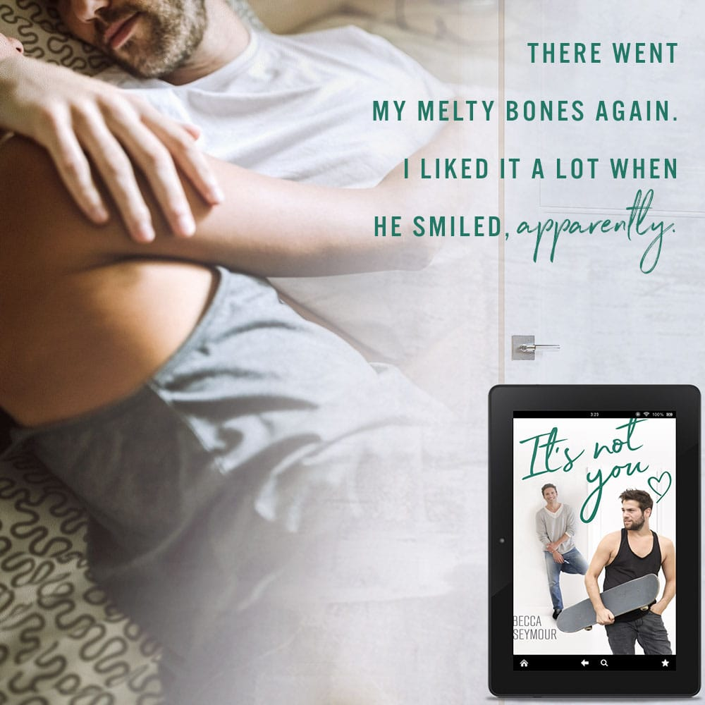 It's Not You by Becca Seymour Teaser 5 Melty Bones